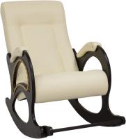 Кресло-качалка Импэкс Комфорт Модель 44 (венге/dundi 112) -
