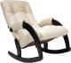 Кресло-качалка Импэкс Комфорт 67 (венге/polaris beige) -