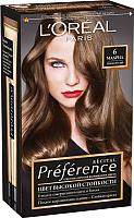 Гель-краска для волос L'Oreal Paris Preference 6 Мадрид (темно-русый) -
