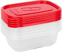 Набор контейнеров Oursson CP2582S/RD -