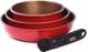 Набор кухонной посуды Oursson Hard Work KWS6621HR -