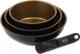 Набор кухонной посуды Oursson Hard Work KWS6620HR -