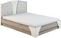 Каркас кровати МСТ. Мебель Натали №2 1.6 б/м, б/к -