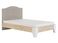 Каркас кровати МСТ. Мебель Флоренция №11.3 160x200 (с мягкой спинкой) -