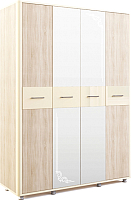 Шкаф МСТ. Мебель Оливия №14 (дуб сонома/ваниль) -