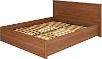 Каркас кровати Ижмебель Венеция 5 160 (клен торонто/профиль с патиной) -