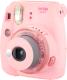 Фотоаппарат с мгновенной печатью Fujifilm Instax Mini 9 (Clear Pink) -