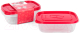 Набор контейнеров Oursson CP1082S/RD -