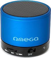 Портативная колонка Omega microSD/FM 3W Bluetooth / OG47BL (синий) -