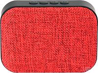 Портативная колонка Omega microSD/FM 3W Bluetooth / OG58R (красный) -
