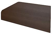 Перегородка для стола ТерМит Арго А-521 (дуб венге) -