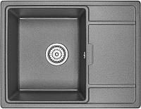 Мойка кухонная Granula GR-6503 (графит) -