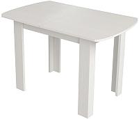 Обеденный стол Сакура Персей №1 (бодега белый) -