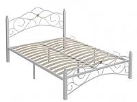 Двуспальная кровать Сакура Garda-3 160 (белый) -