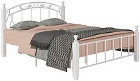 Двуспальная кровать Сакура Garda-5 160 (белый) -