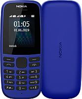 Мобильный телефон Nokia 105 Dual 2019 / TA-1174 (синий) -