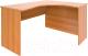 Письменный стол ТерМит Авантаж В-824 правый (миланский орех) -