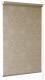 Рулонная штора Delfa Сантайм Металлик Принт СРШ-01МП 3593 (68x215, темно-бежевый) -