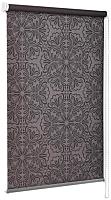 Рулонная штора Delfa Сантайм Металлик Принт СРШ-01МП 3592 (43x170, шоколад) -