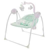 Качели для новорожденных Pituso Marbella / TY-008 (бирюзовый/круги) -