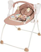 Качели для новорожденных Pituso Viola / TY-006 (бежевый/жираф) -