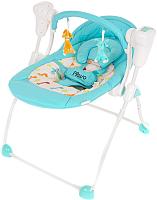 Качели для новорожденных Pituso Viola / TY-006 (бирюзовый/жираф) -