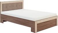 Полуторная кровать Сакура Реал-Люкс №14М 140 (шимо темный/шимо светлый) -