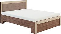 Двуспальная кровать Сакура Реал-Люкс №16М 160 (шимо темный/шимо светлый) -