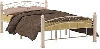 Полуторная кровать Сакура Garda-15 140 (белый) -