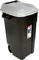 Контейнер для мусора Tayg 422003 (120л, серая крышка) -