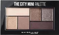 Палетка теней для век Maybelline New York The City Mini Palette тон 410 -
