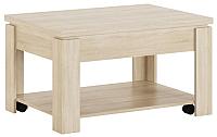 Журнальный столик Сакура Рубин №5 (дуб сонома светлый) -