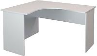Письменный стол ТерМит Арго А-204.60 левый (серый) -