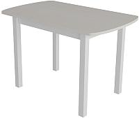Обеденный стол Сакура Персей №2.1 (белый/бодега белый) -