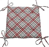 Подушка на стул Nadzejka Шотландка / PC.Sh -