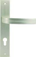Ручка дверная Нора-М 106-85 мм (белый жемчуг) -