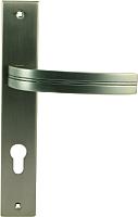 Ручка дверная Нора-М 106-85 мм (графит) -