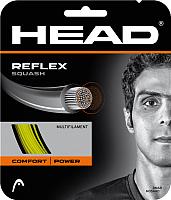 Струна для сквоша Head Reflex Squash 20 / 281256-YW (10м, желтый) -