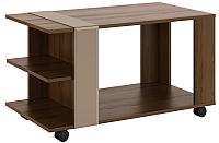 Журнальный столик МСТ. Мебель Виктория 1 (дезира темный/мокко) -