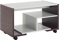 Журнальный столик МСТ. Мебель Виктория 2 (венге/рамух белый) -