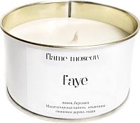 Свеча FlameMoscow Faye / WM013 (250мл) -