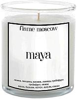 Свеча FlameMoscow Maya / GL005 (310мл) -