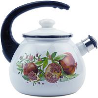 Чайник со свистком Idilia Гранат 2711/2 -