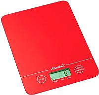 Кухонные весы Atlanta ATH-6213 (красный) -