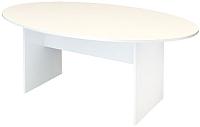 Стол для переговоров ТерМит Арго А-028 (белый) -