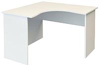 Письменный стол ТерМит Арго А-203.60 левый (белый) -