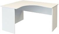 Письменный стол ТерМит Арго А-204.60 левый (белый) -