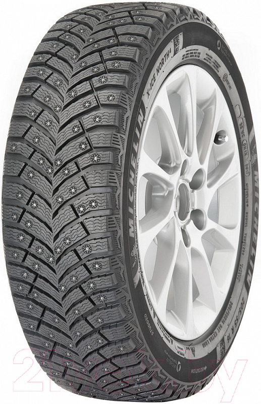 Купить Зимняя шина Michelin, X-Ice North 4 255/45R18 103T, Россия