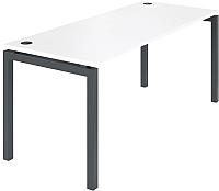 Письменный стол ТерМит Арго АМ-005 (белый/антрацит) -
