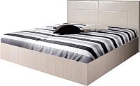 Полуторная кровать Мебель-Парк Аврора 4 200x120 (светлый) -